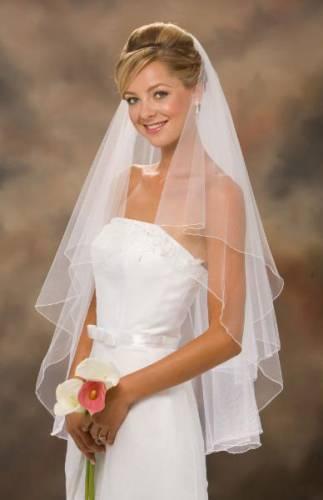 Красивая свадебная прическа с длинной